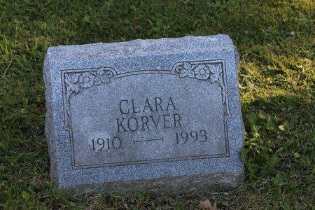 KORVER, CLARA - Ashtabula County, Ohio | CLARA KORVER - Ohio Gravestone Photos