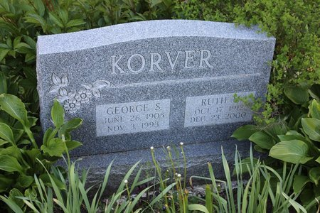 KORVER, RUTH M. - Ashtabula County, Ohio | RUTH M. KORVER - Ohio Gravestone Photos