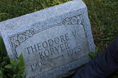 KORVER, THEODORE V. - Ashtabula County, Ohio | THEODORE V. KORVER - Ohio Gravestone Photos