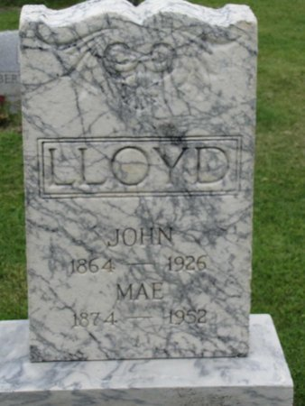 JAMES LLOYD, MAE - Ashtabula County, Ohio | MAE JAMES LLOYD - Ohio Gravestone Photos