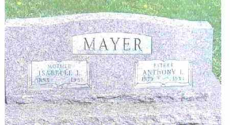MAYER, ANTHONY L. - Ashtabula County, Ohio | ANTHONY L. MAYER - Ohio Gravestone Photos