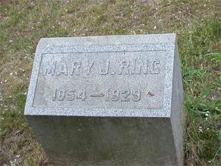 RING, MARY JANE - Ashtabula County, Ohio | MARY JANE RING - Ohio Gravestone Photos