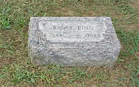 RING, ROY EARNEST - Ashtabula County, Ohio | ROY EARNEST RING - Ohio Gravestone Photos