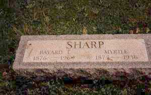 SHARP, MYRTLE ELIZABETH - Ashtabula County, Ohio | MYRTLE ELIZABETH SHARP - Ohio Gravestone Photos
