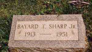 SHARP, BAYARD TAYLOR JR. - Ashtabula County, Ohio | BAYARD TAYLOR JR. SHARP - Ohio Gravestone Photos
