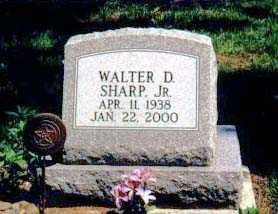 SHARP, WALTER D. JR. - Ashtabula County, Ohio   WALTER D. JR. SHARP - Ohio Gravestone Photos