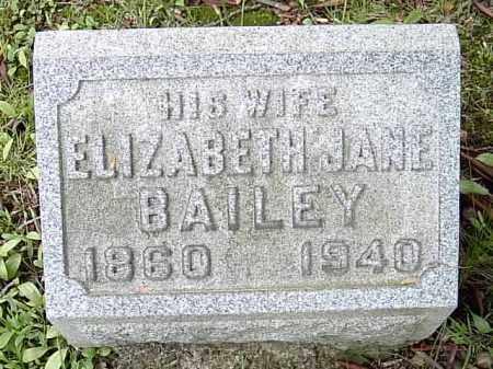 BAILEY TALCOTT, ELIZABETH JANE - Ashtabula County, Ohio | ELIZABETH JANE BAILEY TALCOTT - Ohio Gravestone Photos