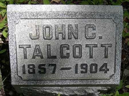TALCOTT, JOHN C. - Ashtabula County, Ohio | JOHN C. TALCOTT - Ohio Gravestone Photos