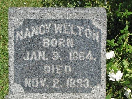 WELTON, NANCY ANN - Ashtabula County, Ohio   NANCY ANN WELTON - Ohio Gravestone Photos