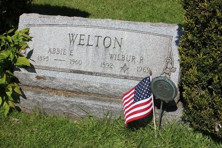 WELTON, ABBIE E. - Ashtabula County, Ohio | ABBIE E. WELTON - Ohio Gravestone Photos