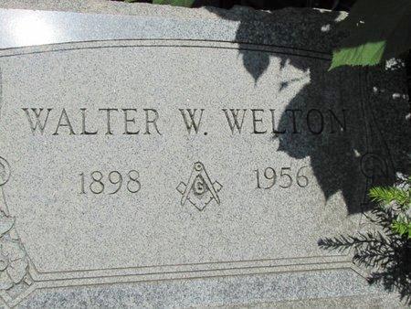 WELTON, WALTER - Ashtabula County, Ohio   WALTER WELTON - Ohio Gravestone Photos