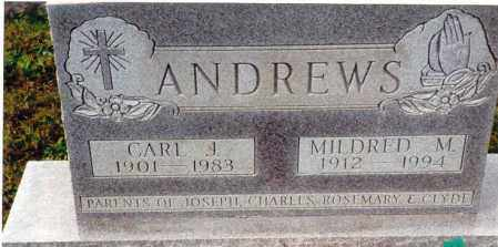 ANDREWS, MILDRED M. - Athens County, Ohio | MILDRED M. ANDREWS - Ohio Gravestone Photos