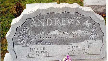ANDREWS, CHARLES E. - Athens County, Ohio | CHARLES E. ANDREWS - Ohio Gravestone Photos