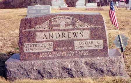 ANDREWS, GERTRUDE M - Athens County, Ohio | GERTRUDE M ANDREWS - Ohio Gravestone Photos
