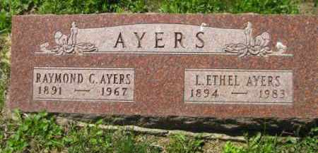 AYERS, L. ETHEL - Athens County, Ohio | L. ETHEL AYERS - Ohio Gravestone Photos