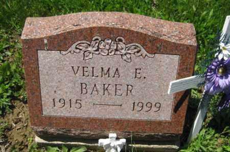 BAKER, VELMA E. - Athens County, Ohio | VELMA E. BAKER - Ohio Gravestone Photos