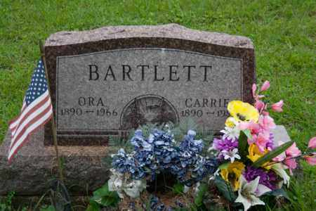 BARTLETT, ORA - Athens County, Ohio | ORA BARTLETT - Ohio Gravestone Photos