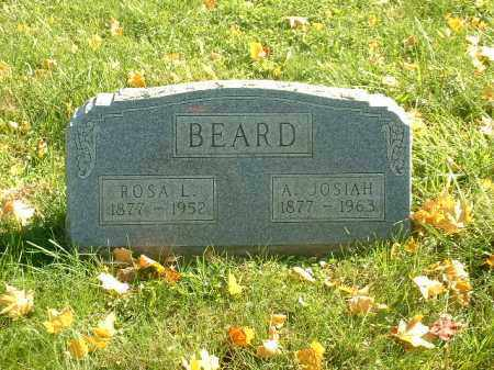 MIELLMIER BEARD, ROSA L. - Athens County, Ohio | ROSA L. MIELLMIER BEARD - Ohio Gravestone Photos