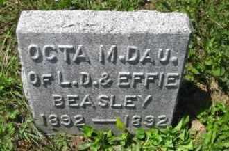 BEASLEY, OCTA M. - Athens County, Ohio | OCTA M. BEASLEY - Ohio Gravestone Photos