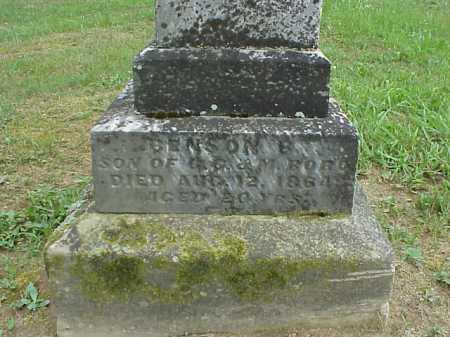 BOBO, BENSON B. - Athens County, Ohio | BENSON B. BOBO - Ohio Gravestone Photos