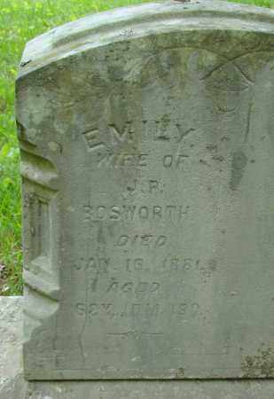 BOSWORTH, EMILY - Athens County, Ohio | EMILY BOSWORTH - Ohio Gravestone Photos