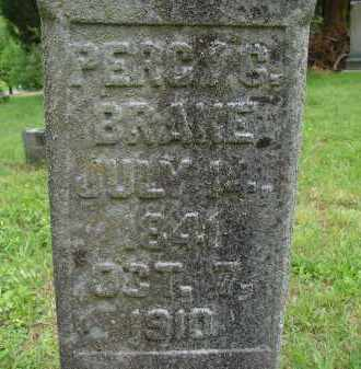 BRAKE, PERCY G. - Athens County, Ohio | PERCY G. BRAKE - Ohio Gravestone Photos