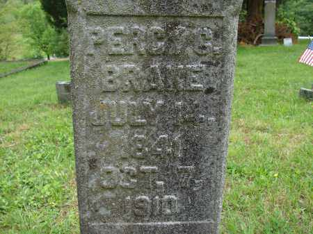 BRANE, PERCY G. - Athens County, Ohio | PERCY G. BRANE - Ohio Gravestone Photos