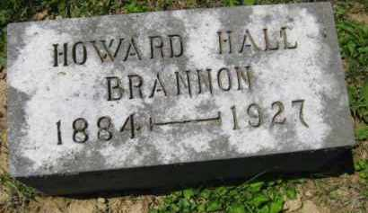 BRANNON, HOWARD HALL - Athens County, Ohio | HOWARD HALL BRANNON - Ohio Gravestone Photos