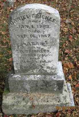 BRICKLES, SARAH - Athens County, Ohio | SARAH BRICKLES - Ohio Gravestone Photos