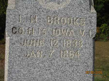 BROOKS, I. H. - Athens County, Ohio | I. H. BROOKS - Ohio Gravestone Photos