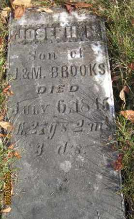 BROOKS, JOSEPH H. - Athens County, Ohio | JOSEPH H. BROOKS - Ohio Gravestone Photos