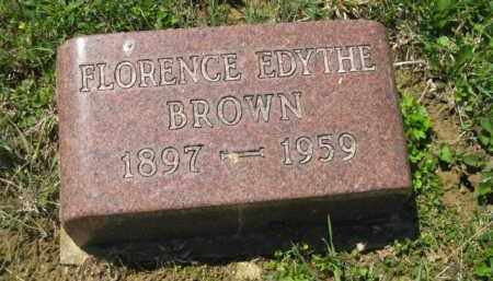BROWN, FLORENCE EDYTHE - Athens County, Ohio | FLORENCE EDYTHE BROWN - Ohio Gravestone Photos