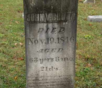 BROWN, JOHN V. - Athens County, Ohio | JOHN V. BROWN - Ohio Gravestone Photos