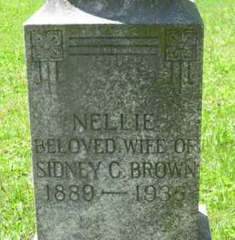 BROWN, NELLIE - Athens County, Ohio | NELLIE BROWN - Ohio Gravestone Photos