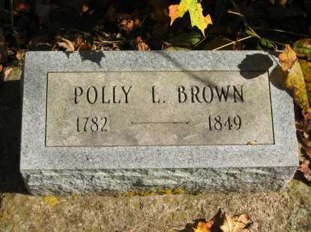 BROWN, POLLY L. - Athens County, Ohio | POLLY L. BROWN - Ohio Gravestone Photos