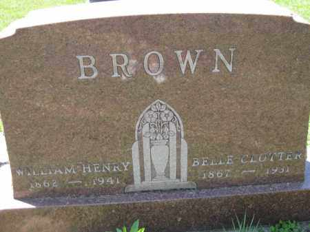 BROWN, WILLIAM HENRY - Athens County, Ohio | WILLIAM HENRY BROWN - Ohio Gravestone Photos
