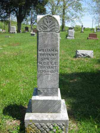 BRYANT, WILLIAM H, - Athens County, Ohio | WILLIAM H, BRYANT - Ohio Gravestone Photos