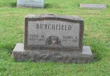 BURCHFIELD, EFFIE - Athens County, Ohio | EFFIE BURCHFIELD - Ohio Gravestone Photos