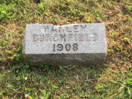 BURCHFIELD, HARLEY - Athens County, Ohio | HARLEY BURCHFIELD - Ohio Gravestone Photos