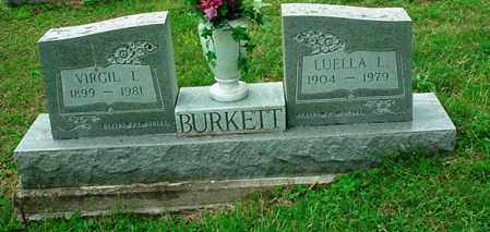 BURKETT, LUELLA L. - Athens County, Ohio | LUELLA L. BURKETT - Ohio Gravestone Photos