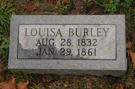 BURLEY, LOUISA - Athens County, Ohio | LOUISA BURLEY - Ohio Gravestone Photos