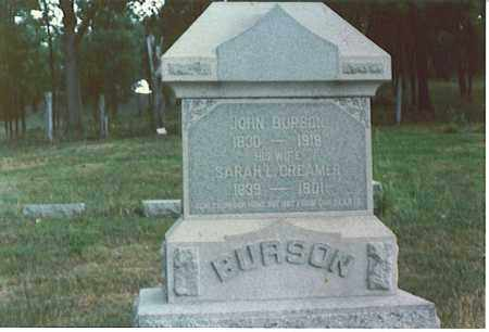 BURSON, JOHN - Athens County, Ohio | JOHN BURSON - Ohio Gravestone Photos