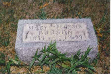 BURSON, MARY FLOSSIE - Athens County, Ohio | MARY FLOSSIE BURSON - Ohio Gravestone Photos