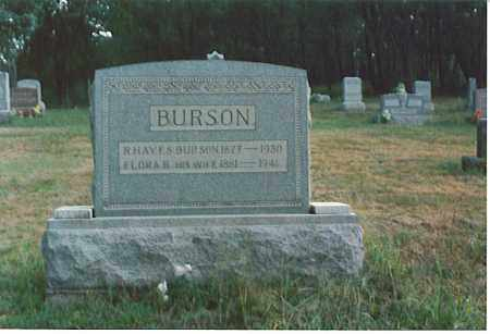 BURSON, FLORA B. - Athens County, Ohio | FLORA B. BURSON - Ohio Gravestone Photos