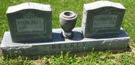 BYERLY, PETER ELZA - Athens County, Ohio | PETER ELZA BYERLY - Ohio Gravestone Photos