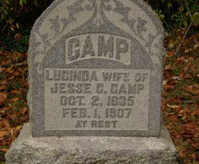 CAMP, LUCINDA - Athens County, Ohio | LUCINDA CAMP - Ohio Gravestone Photos