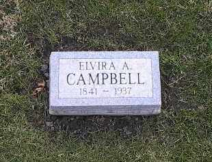 CAMPBELL, ELVIRA - Athens County, Ohio | ELVIRA CAMPBELL - Ohio Gravestone Photos