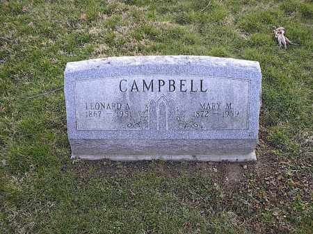 CAMPBELL, MARY M. - Athens County, Ohio | MARY M. CAMPBELL - Ohio Gravestone Photos