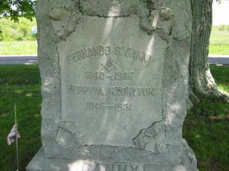 CANNY, HEPPY A. - Athens County, Ohio | HEPPY A. CANNY - Ohio Gravestone Photos
