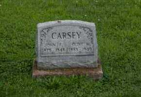 CARSEY, JOHN F - Athens County, Ohio | JOHN F CARSEY - Ohio Gravestone Photos